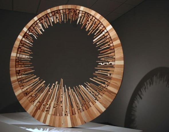 Eco Art reclaimed wood