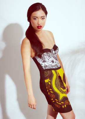 sustainable design, green fashion, print mix editorial