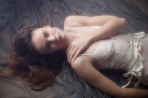 eco fashion; sustainable style, lingerie editorial